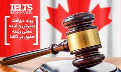 رشته حقوق در کانادا